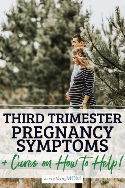third trimester pregnancy symptoms
