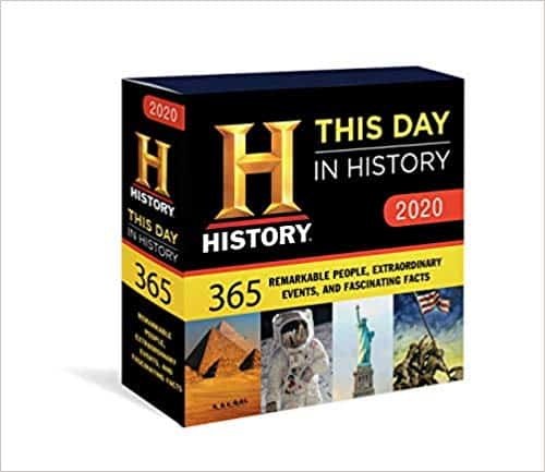 2020 History Channel This Day in History Boxed Calendar