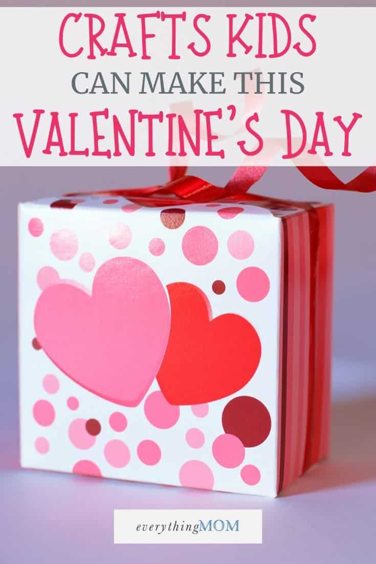 13 Valentine S Crafts For Kids Everythingmom