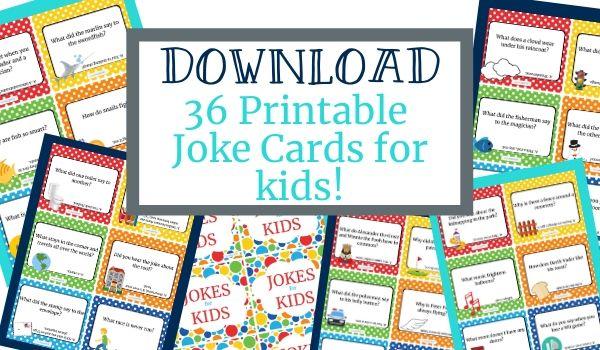 printable jokes for kids