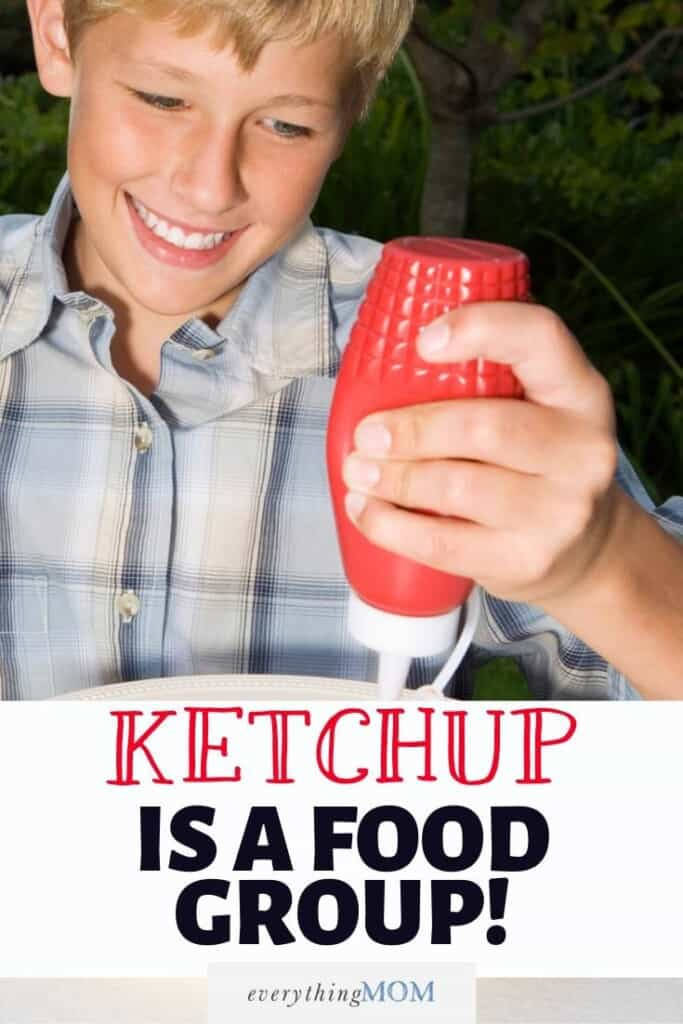 Ketchup IS a Food Group!
