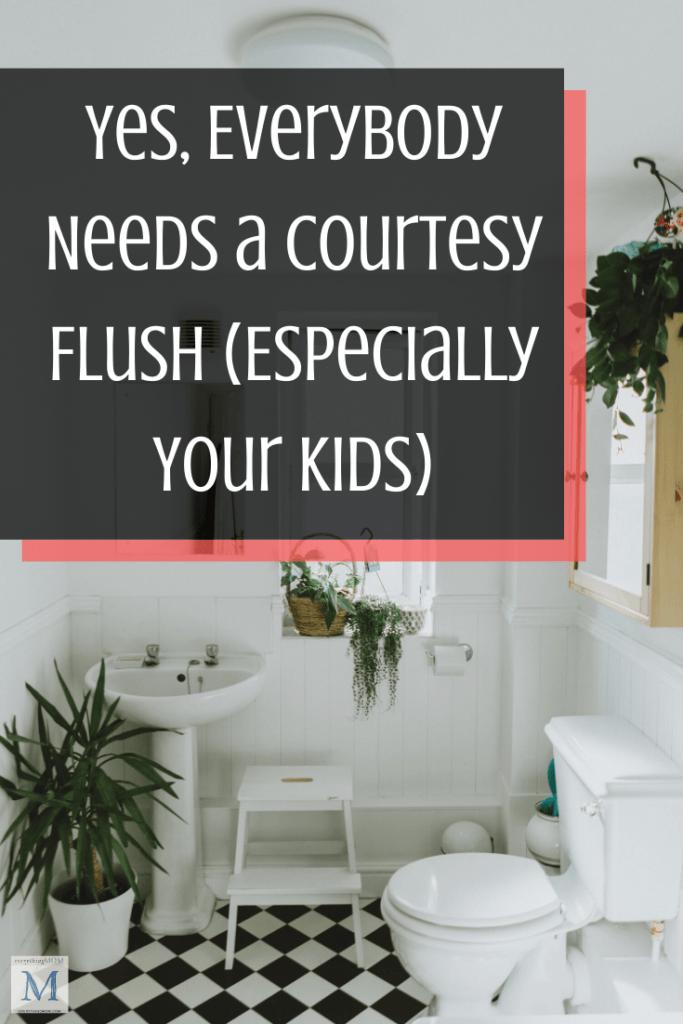 Everybody Needs a Courtesy Flush