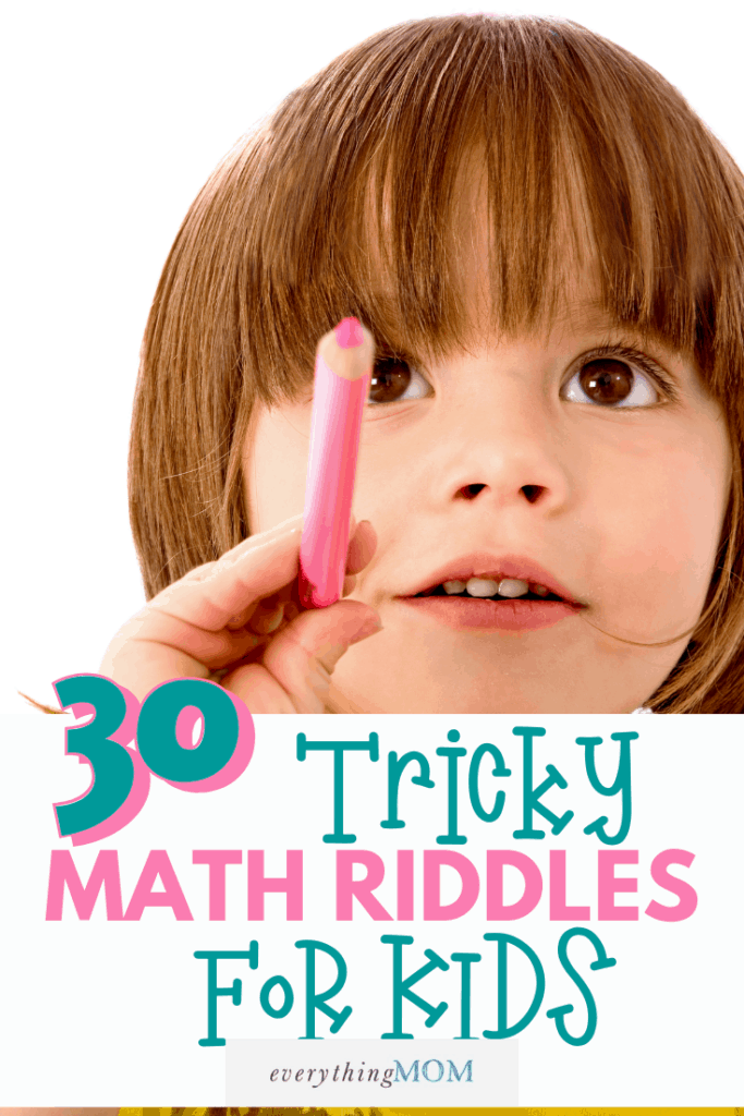 30 Tricky Math Riddles for Kids
