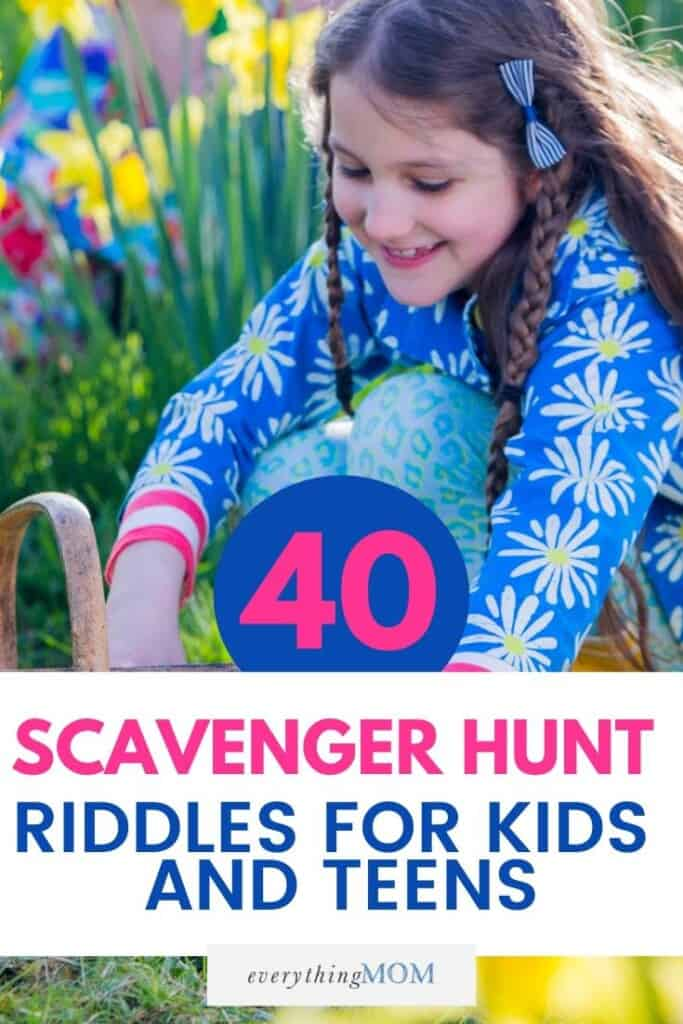 40 Fun Scavenger Hunt Riddles for Kids and Teens