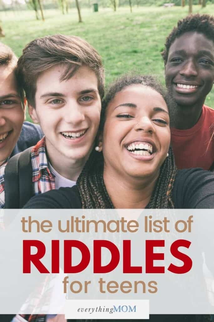 Ultimate List of Riddles for Teens