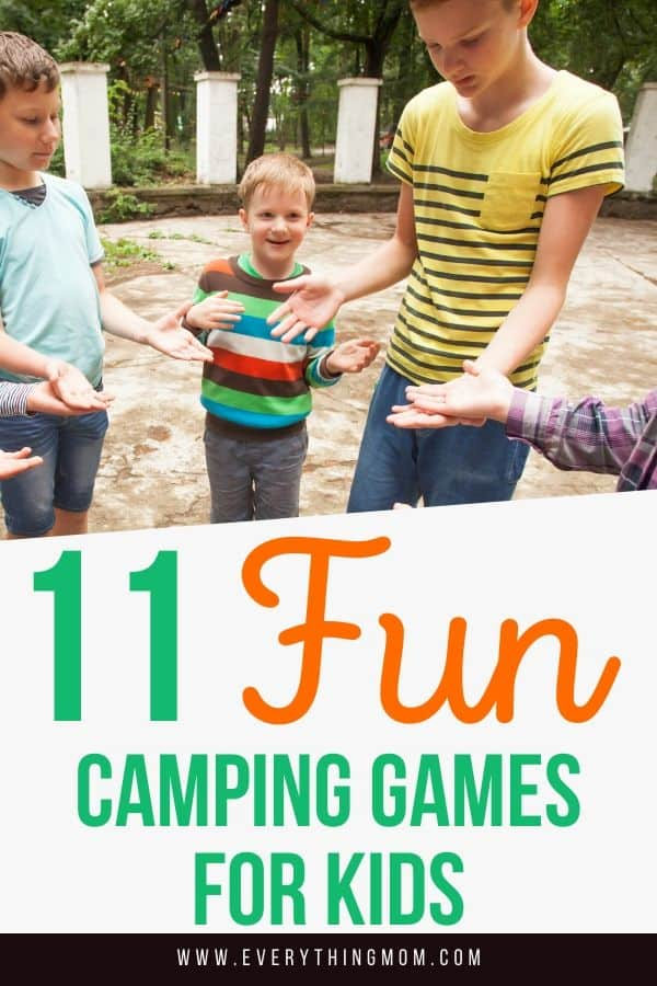 Fun Camping Games for Kids