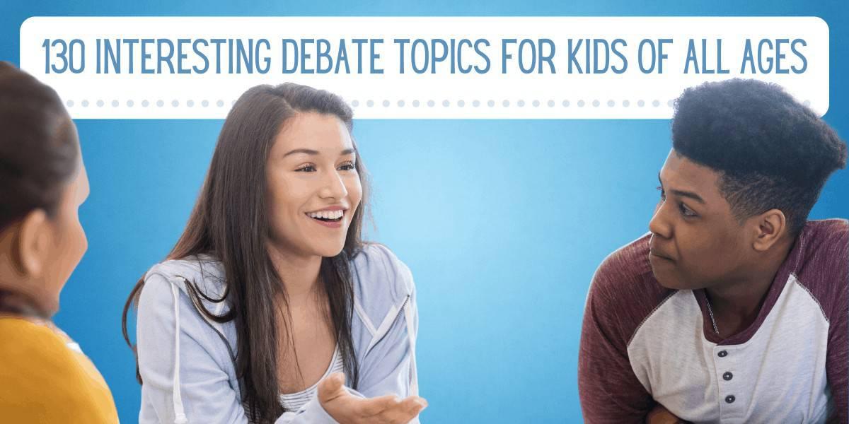 Debate topics youth Youth Topics