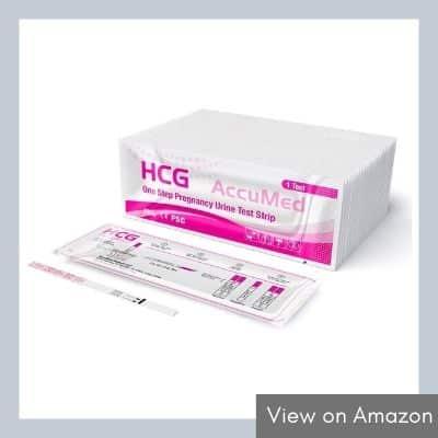 AccuMed 25 Pregnancy Test Strips