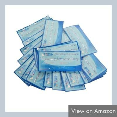 ClinicalGuard® HCG 20 Pregnancy Test Strips