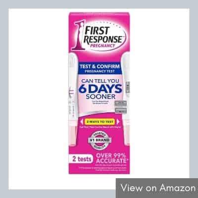 First Response Test & Confirm Digital & Line Pregnancy Test 2-Pack
